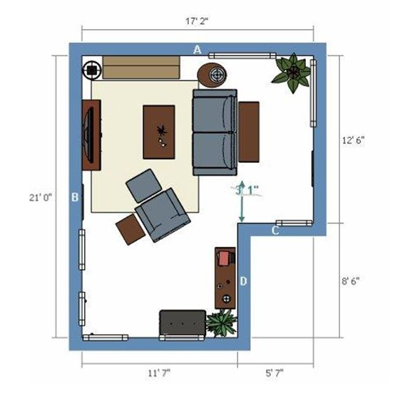 La z boy for Design a room online free with measurements