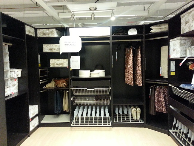 Ikea Closet System 3